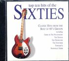 AA.VV TOP TEN HITS OF THE SIXTIES Classic Hits from Best 60s Groups CD Sigillato
