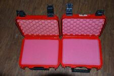 2 Lot SKB iSeries Waterproof Storage Hard Cases Case Gun Camera Tools Ammo Audio