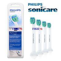 4 GENUINE PHILIPS SONICARE PRORESULTS MINI HX6024 TOOTHBRUSH BRUSH HEADS.