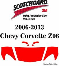 3M Scotchgard Paint Protection Film Pro Series 2011 2012 2013 Chevy Corvette Z06