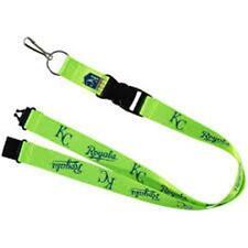 "Kansas City Royals MLB Breakaway Lanyard Key Chain Ring 36"" Long NEON"
