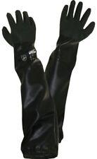 PVC Sandstrahlhandschuhe Teichpflege Handschuh * lange Handschuhe* 70cm *xl*