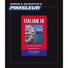 Pimsleur Learn/Speak ITALIAN Language Level 4 CDs NEW!!