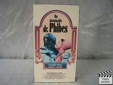 Abominable Dr. Phibes, The VHS Vincent Price