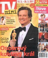 OSCAR COLIN FIRTH LUCY LAWLESS ERIC ROBERTS CZ Magazine