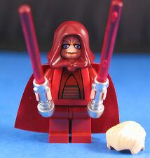 LEGO® brick STAR WARS™ 8039 Chancellor Palpatine™ / Sidious + DARK RED HOOD