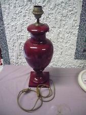 De Diseño -tischlampe __ 47cm __ Firmado: Jehan Rouge _