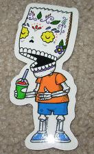"BART SIMPSON MUERTO Art Sticker Print 2.25 X 4.5"" DIA DE LOS muertos JOSE PULIDO"
