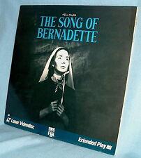 LD laserdisc Franz Werfel's THE SONG OF BERNADETTE Jennifer Jones Vincent Price