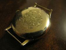 Antike Omega Armband Uhr 585 Gold mit Gravierung 1940 Top Zustand!!!