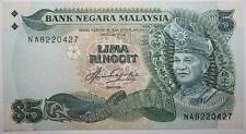 (PL) RM 5 NA 8220427 AUNC, FIRST PREFIX AZIZ TAHA 5TH SERIES NOTE