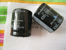 2pcs 390uF 450V Rubycon USC Snap-In Capacitor NEW