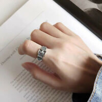 Vintage Style Unisex Chic 4 Steps Hinged Joint Armor Finger Ring Popular 3 Color