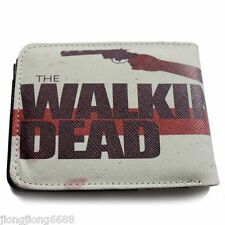 The Walking Dead Leather Wallet Purse Bi-Fold Gift NEW