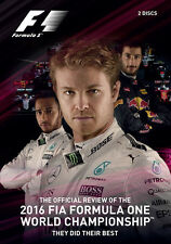 FIA Formula One World Championship - Official F1 Review 2016 DVD (New 2 DVD set)