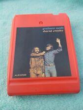 Graham Nash/ David Crosby 8track Tape Cartridge