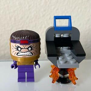Lego 76018 Marvel Superheroes Hulk Lab Smash Modok Minifig Minifigure Rare HTF