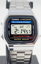 Casio A168w 1 Stainless Steel Watch