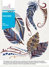Anita Goodesign Embroidery Machine Design CD FEATHERS - NEW