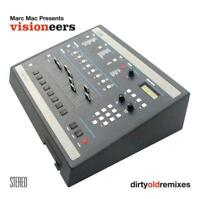 MARC MAC Pres VISIONEERS - DIRTY OLD REMIXES (NEW SEALED) CD Inc Funkbox Runnin'