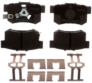 Disc Brake Pad Set fits 2005-2016 Honda CR-V Crosstour Accord Crosstour  ACDELCO