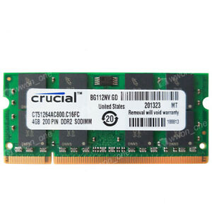 4GB PC2-6400S DDR2 800Mhz Memory For GL40 GM45 GS45 PM45 PM65 PM945 965 chipsets
