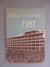 1930 (?) Brochure Fiat Dans le Monde