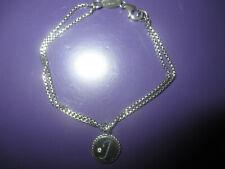 NEUES..Nomination Original.925 Silber Armband..mit Buchstabe & Zirkonia