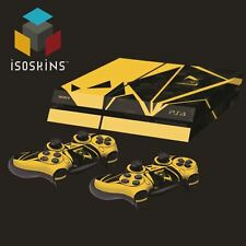 Isoskin® Shattered Honeycomb Yellow & Black Playstation 4 (PS4) Skin Decal