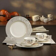 Palacio Kaffeeservice 18 teilig New Bone China Stil Porzellan CreaTable 16663 GB