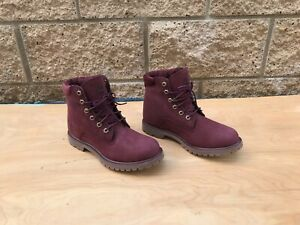NWOT/B Timberland Waterville 6 inch Boots , Burgundy , Sz US 9