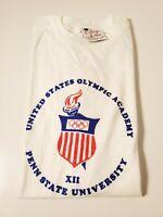 Vintage 1988 United States Olympic Academy Penn State University Medium Tshirt