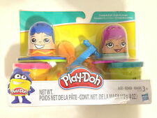 Play-Doh Classic Fuzzy Pumper Create & Cut 2 Cans 2 Thimbles 2 Accessories Set