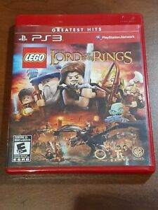 Sony PlayStation PS3 Lego The Lord of the Rings Game Complete. disc 9.5/10