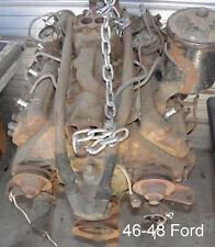 46-48 FORD-MERCURY FLATHEAD V8 ENGINE   (239 cid) plus other parts