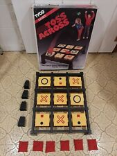 Vintage! 1986 The Toss Across Game By Ideal with Box COMPLETE