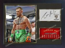 Conor McGregor UFC MMA signed autograph sport Boxing Memorabilia Framed