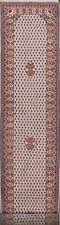 Paisley Traditional Botemir Oriental Runner Rug Hand-knotted Wool Carpet 3x12 ft
