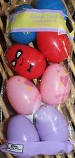 8 Plastic Easter Treat Eggs  4 boys 4 girls Princess Butterfly Super Heros