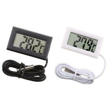 Digital Lcd Fish Tank Water Thermometer Temperature Aquarium Marine with Sample