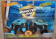 Hot Wheels Monster Jam Crushstation Vs Avenger 57 Chevy Demolition Double 2 Pack