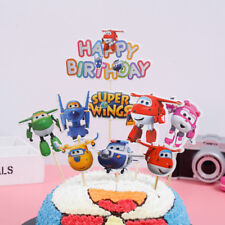 Cupcake Cake  Toppers Super Wings