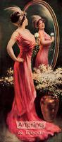 The Last Look by Charles Allan Gilbert (Art Print of Vintage Art)