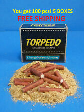 100 pc Adult Party Poppers 5 Boxes! TORPEDO CRACKER SNAPS Party Fast FREE Ship