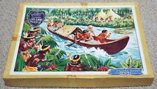 JUNGLE ADVENTURE - VINTAGE VICTORY WOODEN JIGSAW PUZZLE