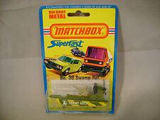 1976 MATCHBOX LESNEY SUPERFAST #30 SWAMP RAT NEW MOC