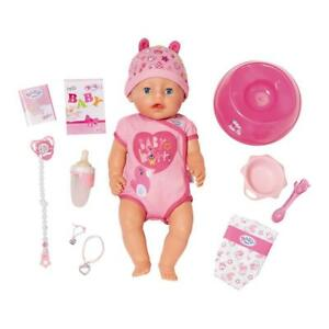 Baby Born Soft Touch Girl Doll Brand New Boxed 43 cm Includes 11 Accessories 3+