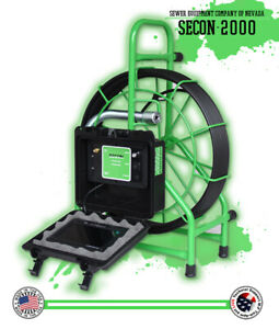 150' USA MADE SEWER PIPE DRAIN INSPECTION CAMERA 512hz SONDE w/ COUNTER