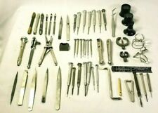 Huge Lot Misc. Watchmakers Tools