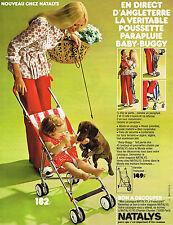PUBLICITE ADVERTISING 015 1973 NATALYS équipement bébé                    300115